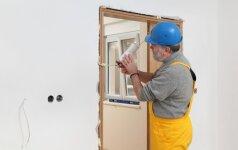Vidinių durų apdaila: papildomi elementai ir apvadai