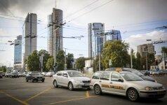 Vilniaus gatves sukaustė spūstys