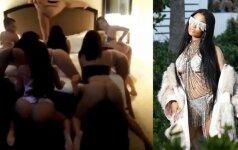 Nicki Minaj ir vaizdo klipo akimirka