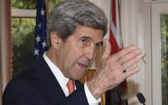 JAV neigia vilkinanti derybas su Rusija dėl paliaubų Alepe