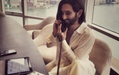Conchita Wurst - dizainerės Dianos Paukštytės gerbėja