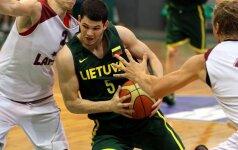 D.Redikas ir V.Čižauskas pelnė 47 taškus, o lietuviai čempionatą pradėjo pergale prieš švedus