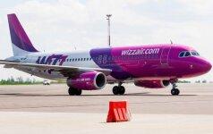 """Kaunas """"Wizz Air"""" skirs pusę milijono eurų naujiems skrydžiams"""