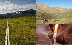 Top 5 įspūdingiausi pasaulio pažintiniai takai