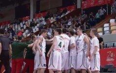 Lietuvos 17-mečiai pasaulio čempionato starte apmaudžiai nusileido ispanams