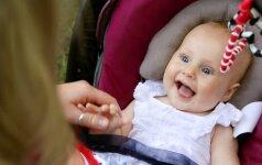 Psichologė: kaip auklėti vienerių metų vaiką