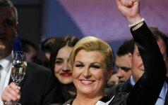 Croatian President Kolinda Grabar-Kitarovič