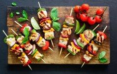 Šefo patarimai, kaip mėgautis lauko virtuve + receptas