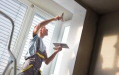 Skambina pavojaus varpais dėl jaunų statybininkų