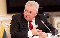 R. Šimašiui – Rusijos ambasadoriaus kaltinimai