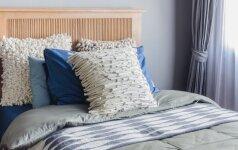 Jaukaus miegamojo paslaptis: 10 geriausių spalvinių derinių