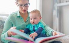 Kodėl verta skaityti kūdikiams? Specialistų patarimai
