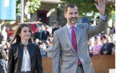 Princesė Letizia ir princas Felipe
