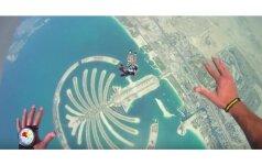 Taip atrodo įspūdingiausias šuolis parašiutu