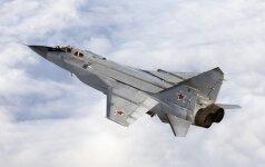 Buriatijoje sudužo MiG-31 naikintuvas
