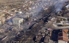 Traukinio avarija Bulgarijoje