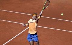 R. Nadalis ir M. Raoničius – ketvirtfinalyje Madride