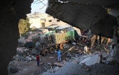 Rusijos antskrydžiai Sirijoje iki šiol nusinešė beveik 10 000 gyvybių