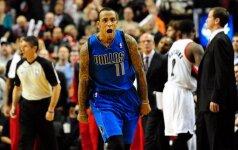 NBA lygoje – pergalingas M. Elliso šūvis ir muštynės Klivlande