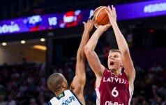 """""""Eurobasket 2017"""" įsimintiniausios akimirkos: paskutinės K. Porzingio rungtynės čempionate"""