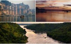 TOP 5 gražiausios pasaulio upės