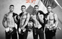 Prancūzų gaisrininkai – karšti kaip striptizo ereliai