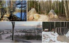 Top 5 pažintiniai takai, kur vaizdas žiemą būna tiesiog nuostabus