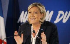 """Europos Parlamentas: M. Le Pen """"fiktyvūs darbai"""" atsiėjo 5 mln. eurų"""