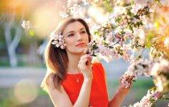 Romantiškas įvaizdis pavasariui pasveikinti: makiažo pamoka