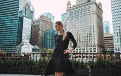 Šventinė L. Dailidėnienės suknelių linija – šiuolaikiškai ir aktyviai miesto moteriai