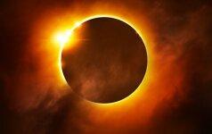 7 patarimai Saulės užtemimo belaukiant