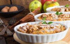 Tobulo skonio obuolių ir moliūgo pyragas – gardžiausias rudeniškas desertas