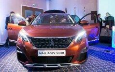 Peugeot 3008 pristatymas