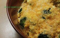 Patikėkite – verta išbandyti: brokoliai su varške