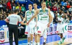 """LKL čempionate – """"Žalgirio"""" ir """"TonyBet"""" krepšininkų mūšis"""