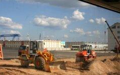 Astravyets construction site