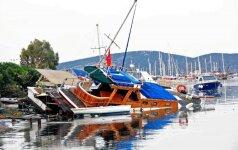 Žemės drebėjimą Graikijoje išgyvenusi lietuvė: pirmą kartą gyvenime taip išsigandau