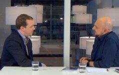 """""""Boso valanda su S. Jovaišu"""": V. Petraitis apie dietą versle"""