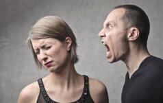15 požymių, kad tavo vyras – chamas. Bėk nuo jo!