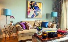 5 sumanios idėjos, kaip sustatyti svetainės baldus