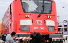 Vokietijoje agresyvus keleivis sutrikdė traukinių eismą