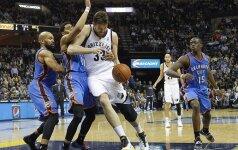 """NBA lygoje – M. Gasolio sugrįžimas ir nutrūkusi """"Knicks"""" pergalių serija"""