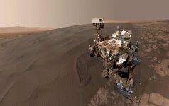 Curiosity asmenukė, padaryta sausio 31 d.
