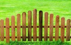 Naujos tvoros statybos planas