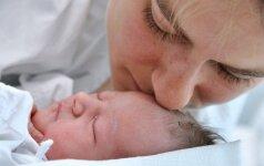 Mano gimdymo istorija: tik 24 minutės gimdymo namuose