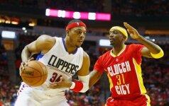 """38-erių P. Pierce'as batelių nekabina: toliau žais """"Clippers"""""""