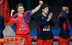 "CSKA parodė jėgą: nušlavė ""Maccabi"" ir laimėjo A. Gomelskio taurę"