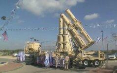 """Izraelis naudojasi """"Žvaigždžių karus"""" primenančia priešraketine sistema"""