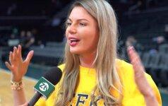 Modelis Mykolaitytė – apie kraštietį žalgirietį, NBA rungtynes ir lietuvius sirgalius