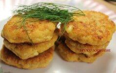 Kitoks receptas: sūrūs varškėčiai